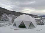 Domo nevado en Jaca Transpirable e hidrófugo