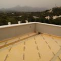 terraza rehabilitada con lámina fléxible